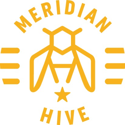 Logo for Meridian Hive