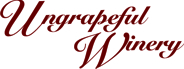 Logo for Ungrapeful Winery, LLC