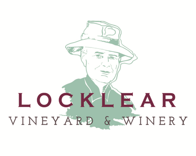 Logo for Charlie T Locklear Vineyard & Winery