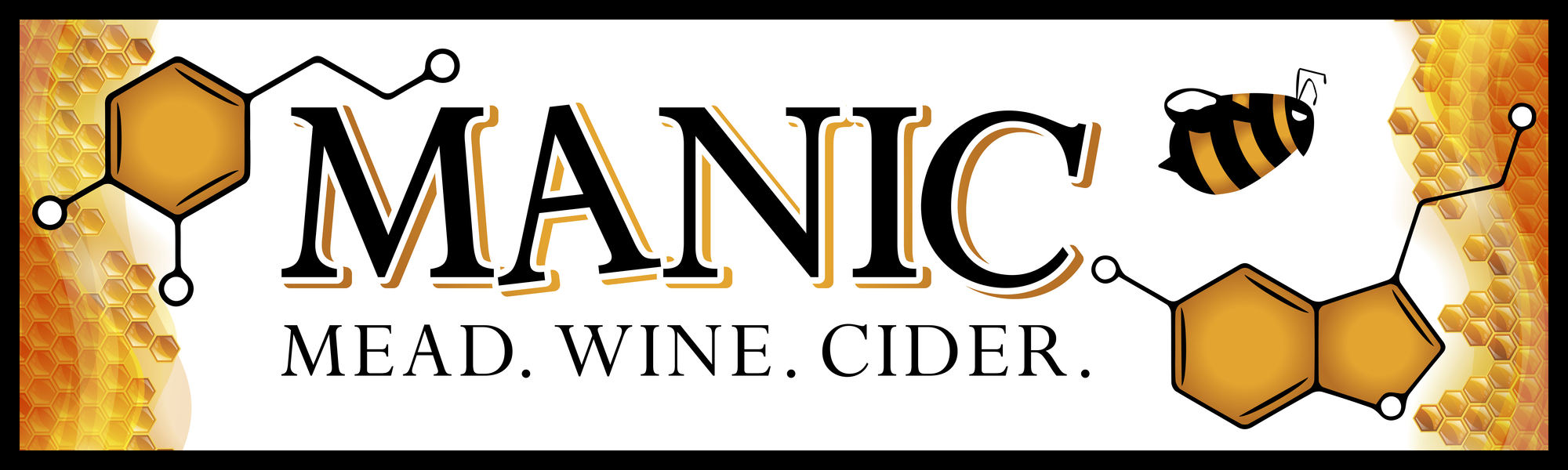Brand for Manic Meadery
