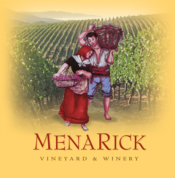 Logo for MenaRick Vineyard & Winery