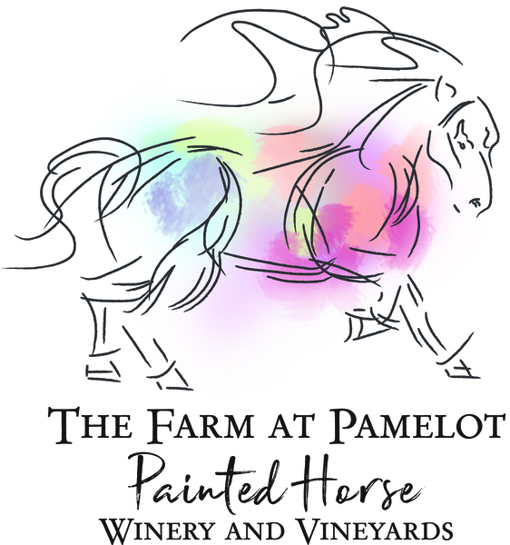 Logo for Painted Horse Winery and Vineyards