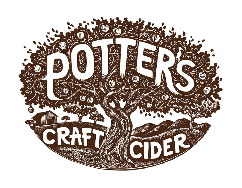 Brand for Potter's Craft Cider