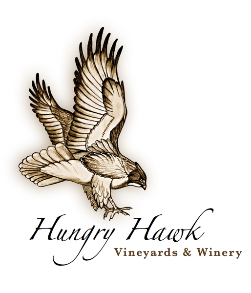Logo for Hungry Hawk Vineyards & Winery