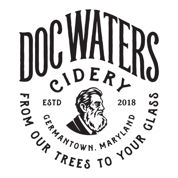 Logo for Doc Waters Cidery