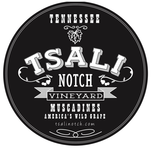 Brand for Tsali Notch Vineyard