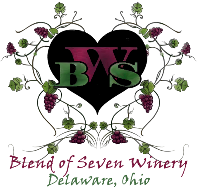 Logo for Blend of Seven Winery