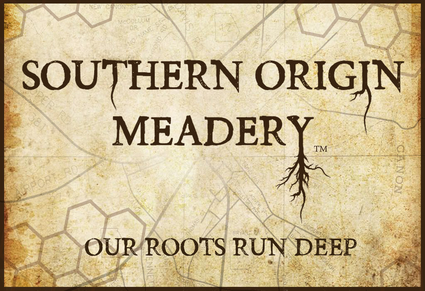 Brand for Southern Origin Meadery