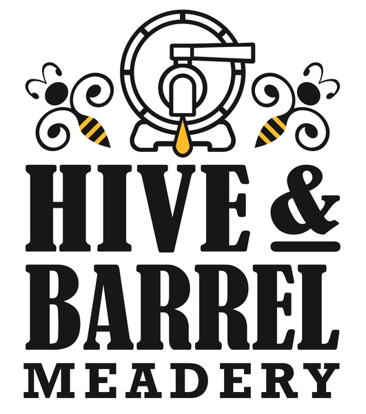 Brand for Hive and Barrel Meadery
