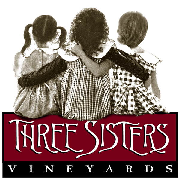 Logo for Three Sisters Vineyards & Winery