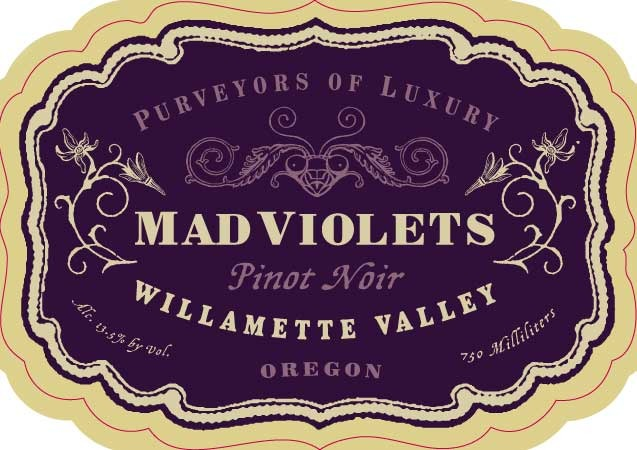Logo for MAD VIOLETS WINE COMPANY