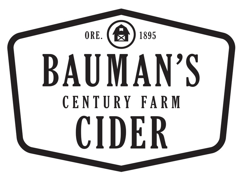 Brand for Bauman's Cider Co