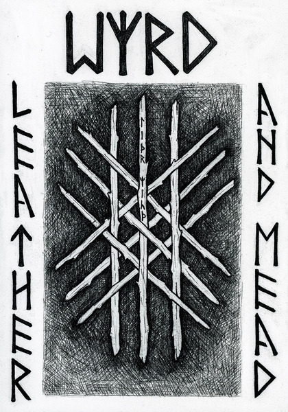 Logo for Wyrd Leather and Mead