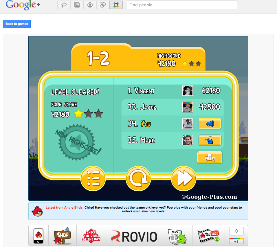 Google Plus Social Games Is Awesome, Done the Right Way!