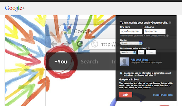 Instant Google+ Invite, Just Click, Signup and Join Google+ : Invite Is Embedded in the Link!