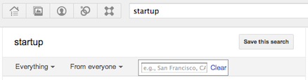 Google+ local search city or zipcode