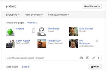 Start a Discussion (About Any Topic) With Your Circles Right From Google+ Search!