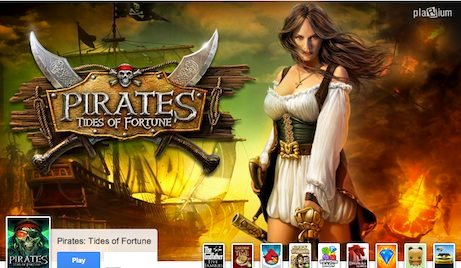 Pirates Tides of Fortune First New Game on Google+ Games for 2012!