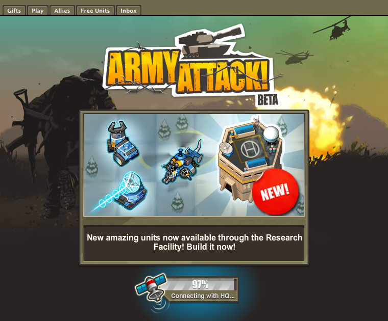 army attack games free