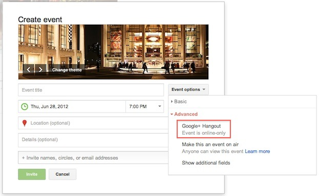 Google+ events with scheduling hangouts and many other features launched [video]