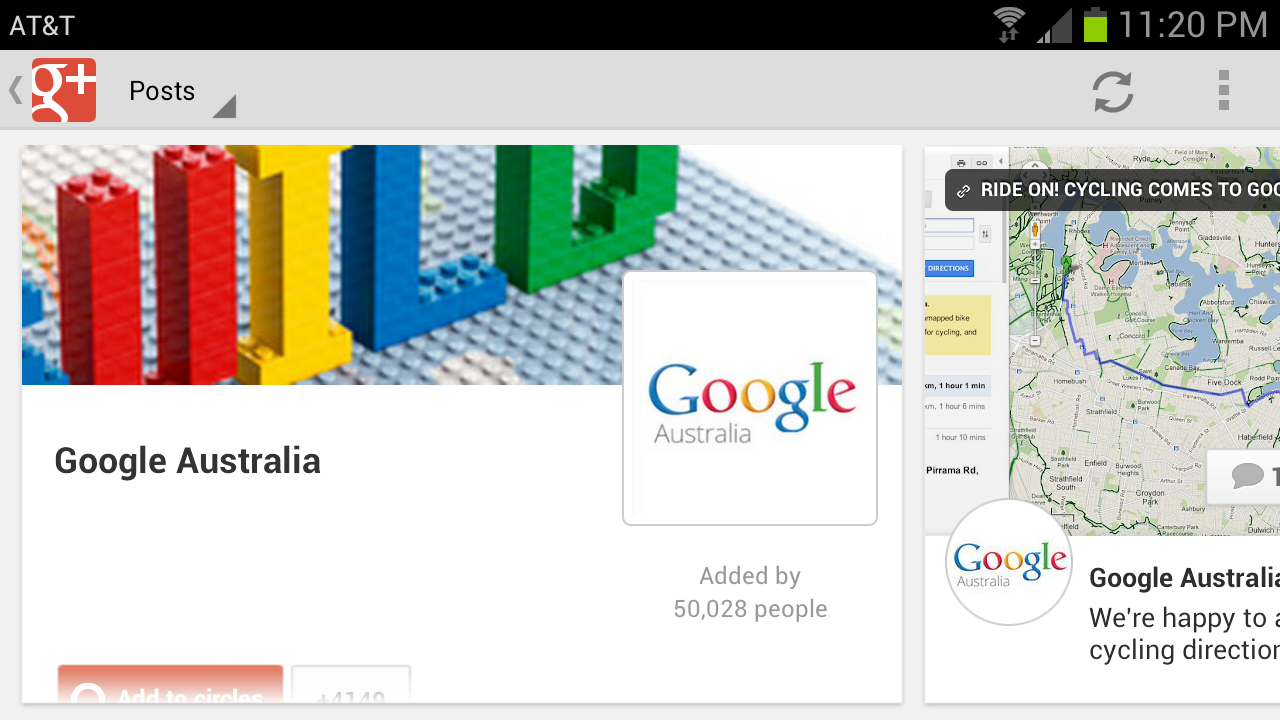 Android Google+ App Now Supports Landscape Mode