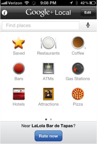 Google+ Local v1.4 for Iphone, Ipad and Touch Released on App Store!