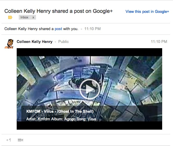 How to get email notifications whenever 'your circles' write or share a new post on Google+?