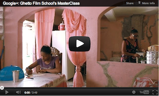 Ghetto Film School Uses Hangouts to Connect With Directors Around the World [Video]
