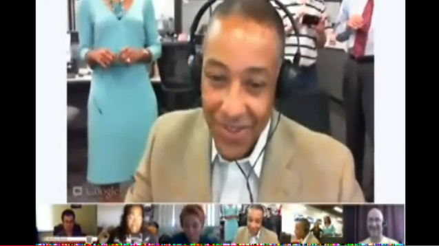 Emmy nominated Breaking bad's cast Giancarlo Esposito on a hangout with fans!