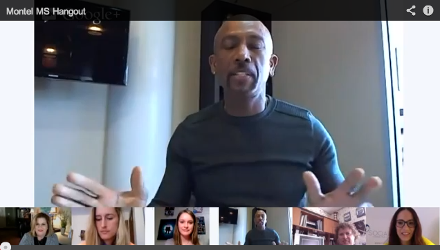 Actor Montel Williams joins hangout to raise awareness about multiple sclerosis!