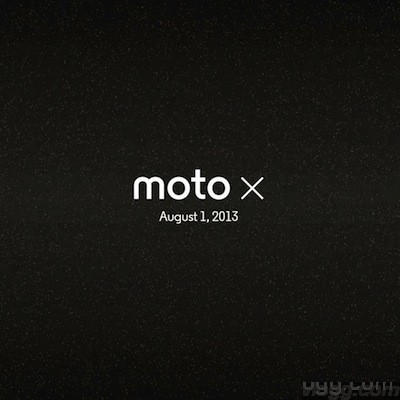 Moto X launch in New York 1st August 2013