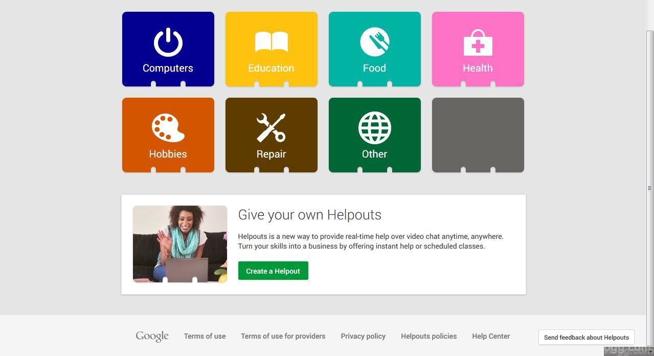 Google Helpouts – Commerce grade version of hangouts coming soon?
