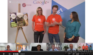 BeTheStart The Pitch Hangout on Air (video)