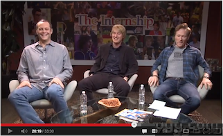 'The Internship' Movie Hangout Hosted by Conan O'Brien (Video)