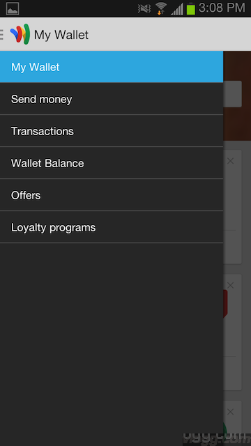 New Google Wallet Android App