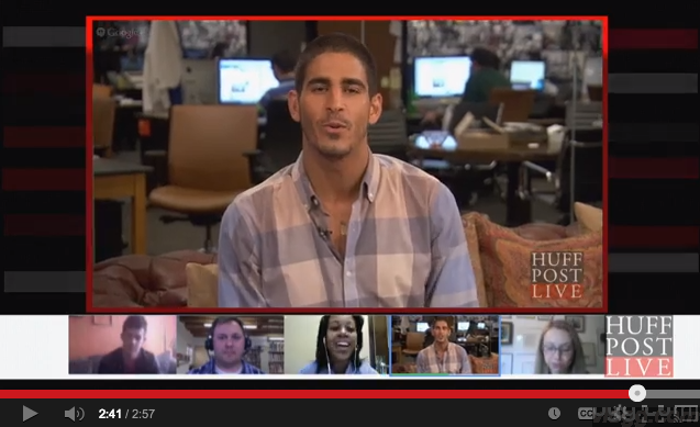The Huffington Post Success Story Using Google+ Hangouts Video