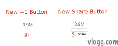 Google +1 and Share Buttons after Redesign