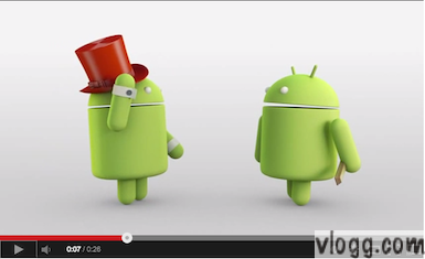 Cute Android Kit Kat 4.4 Animation Magic Video!
