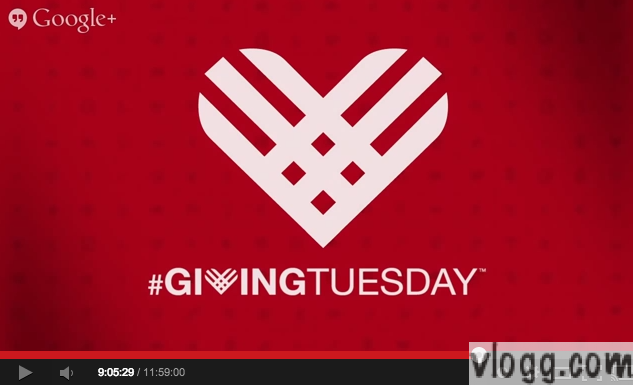 12 Hours Giving Tuesday Hangout-a-thon Video