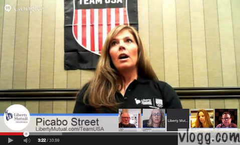 Picabo Street Google+ Hangout on Air Video