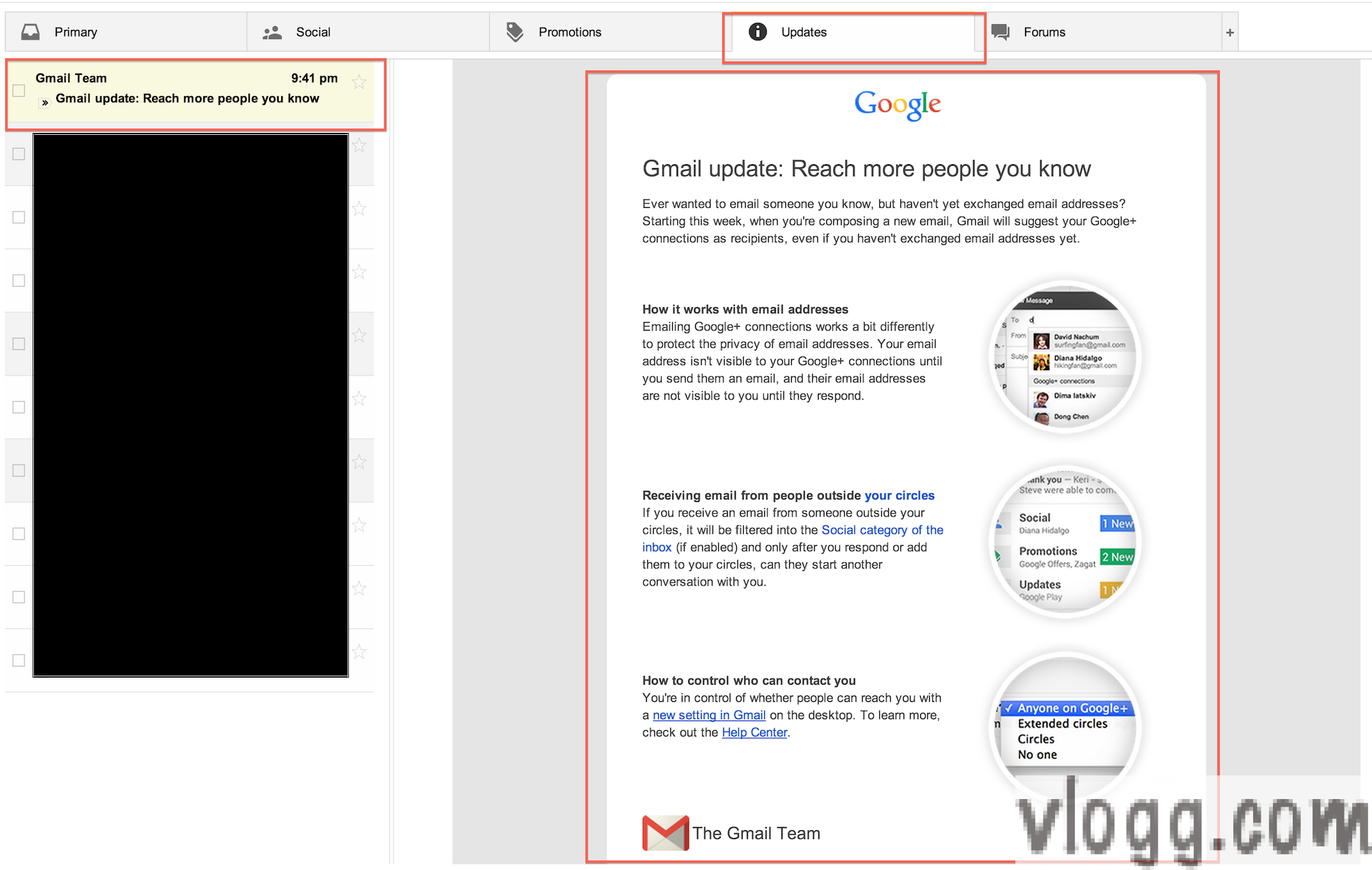 "Email via Google+: ""Reach More People You Know"" Feature Is Rolling Out"