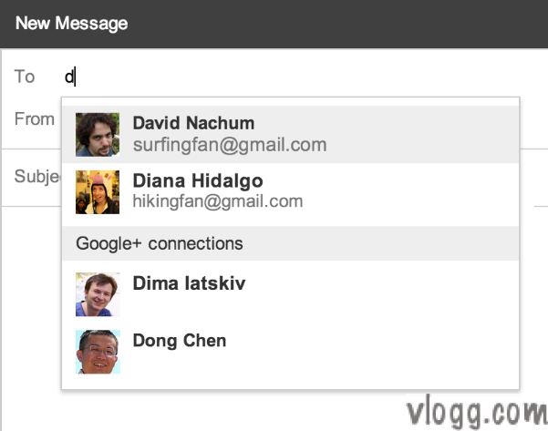 Now Email or Contact Your Google+ Connections Right From Gmail