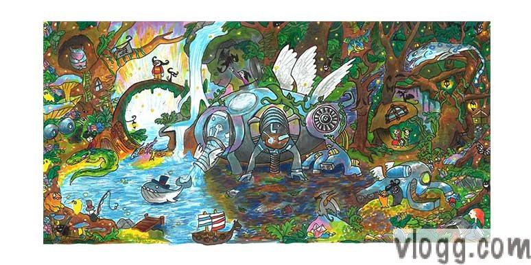 Google 4 Doodle 2014 Winning Doodle [images: Google]