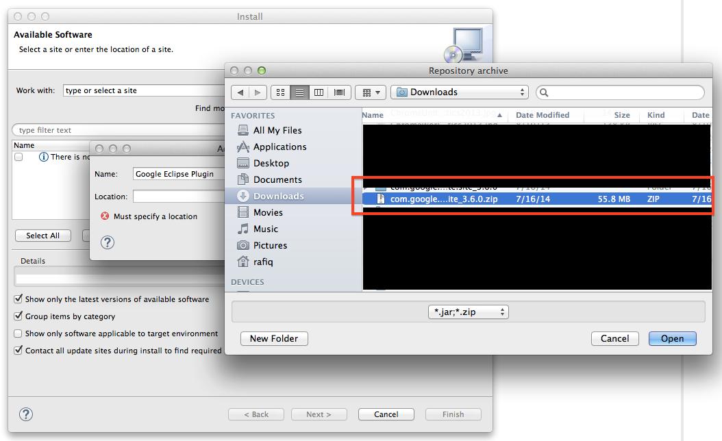 Step3.SelectDownloadedPluginZipFile