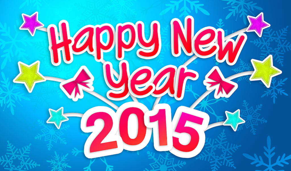 Wish You All Happy New Year 2015