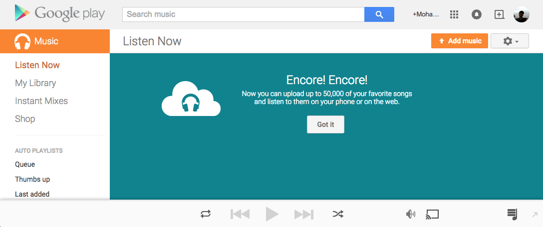 Google Play Music Increases Free Library to 50000 Songs