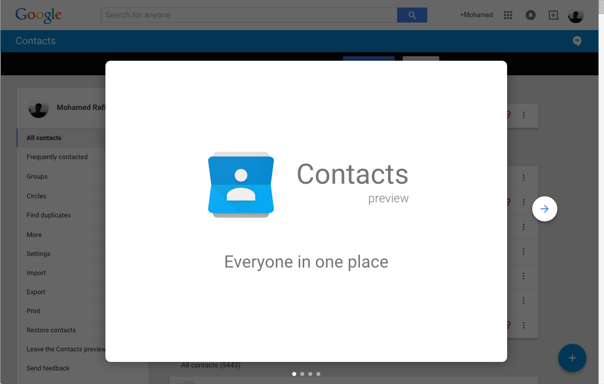 Google Teases Major Changes to Google Contacts with Preview