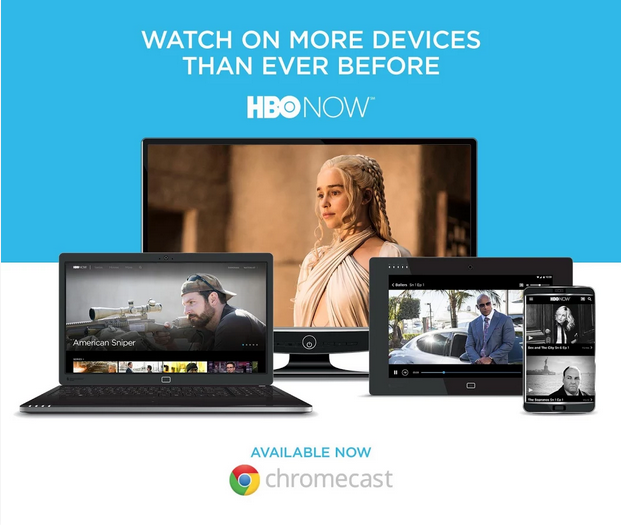HBO NOW Supports Chromecast on Android
