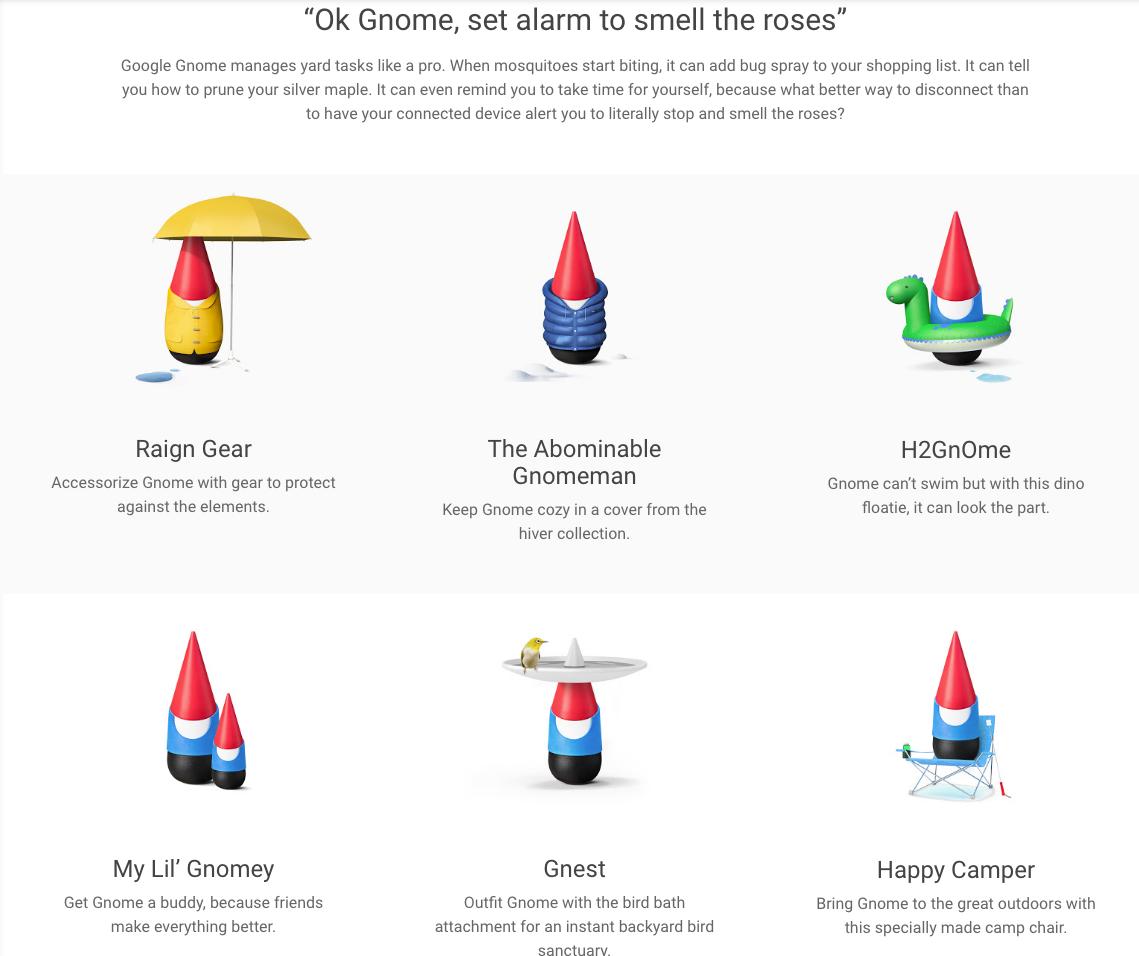 Google Gnome Smart Yard