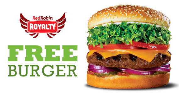Join Red Robin for a FREE Appetizer & Birthday Burger